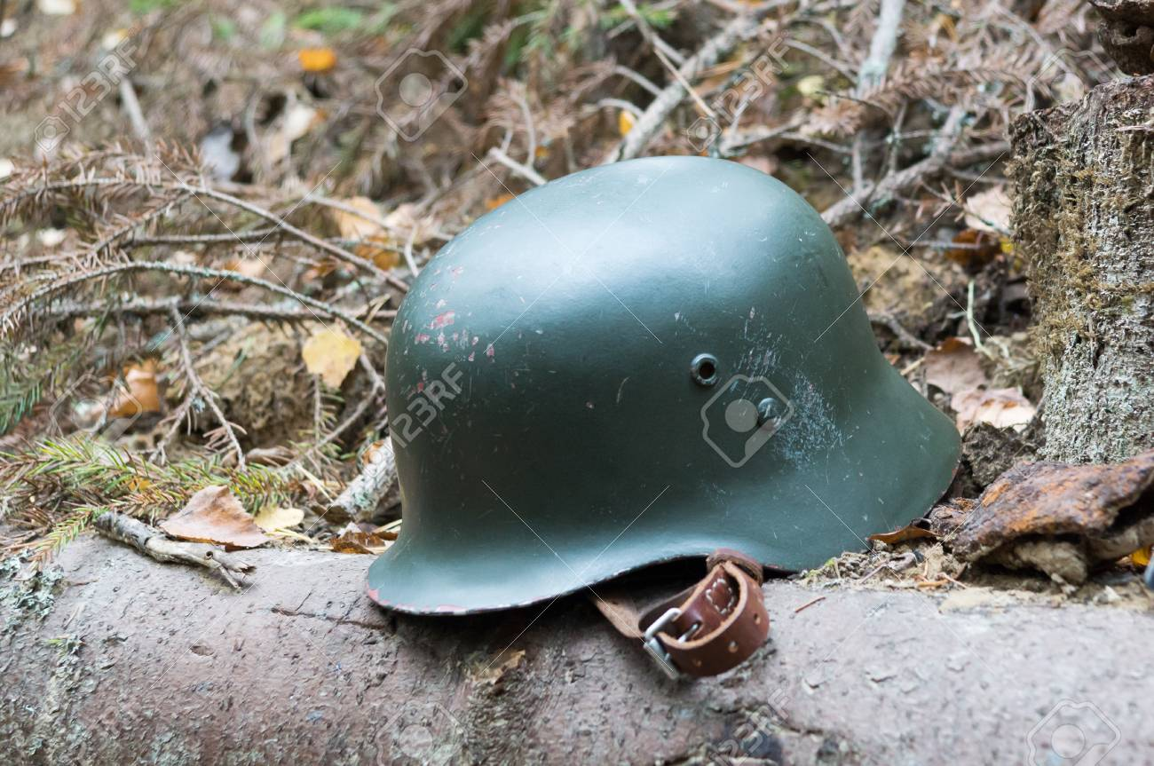Austrian design combat helmet used by the Finnish army in WWII