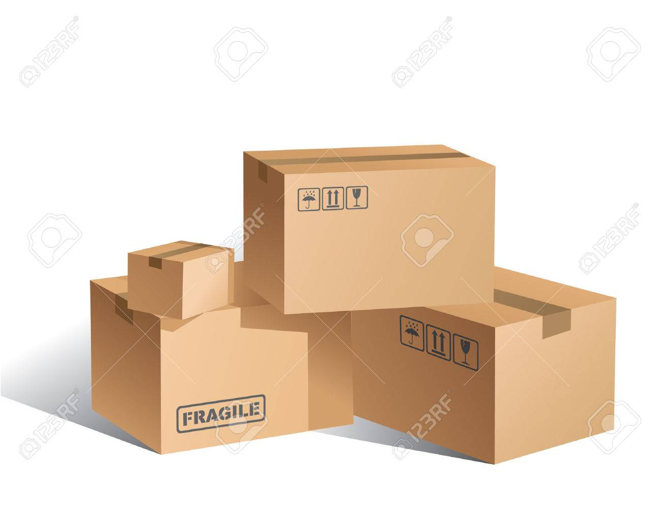 Boxes Stock Vector - 6580878