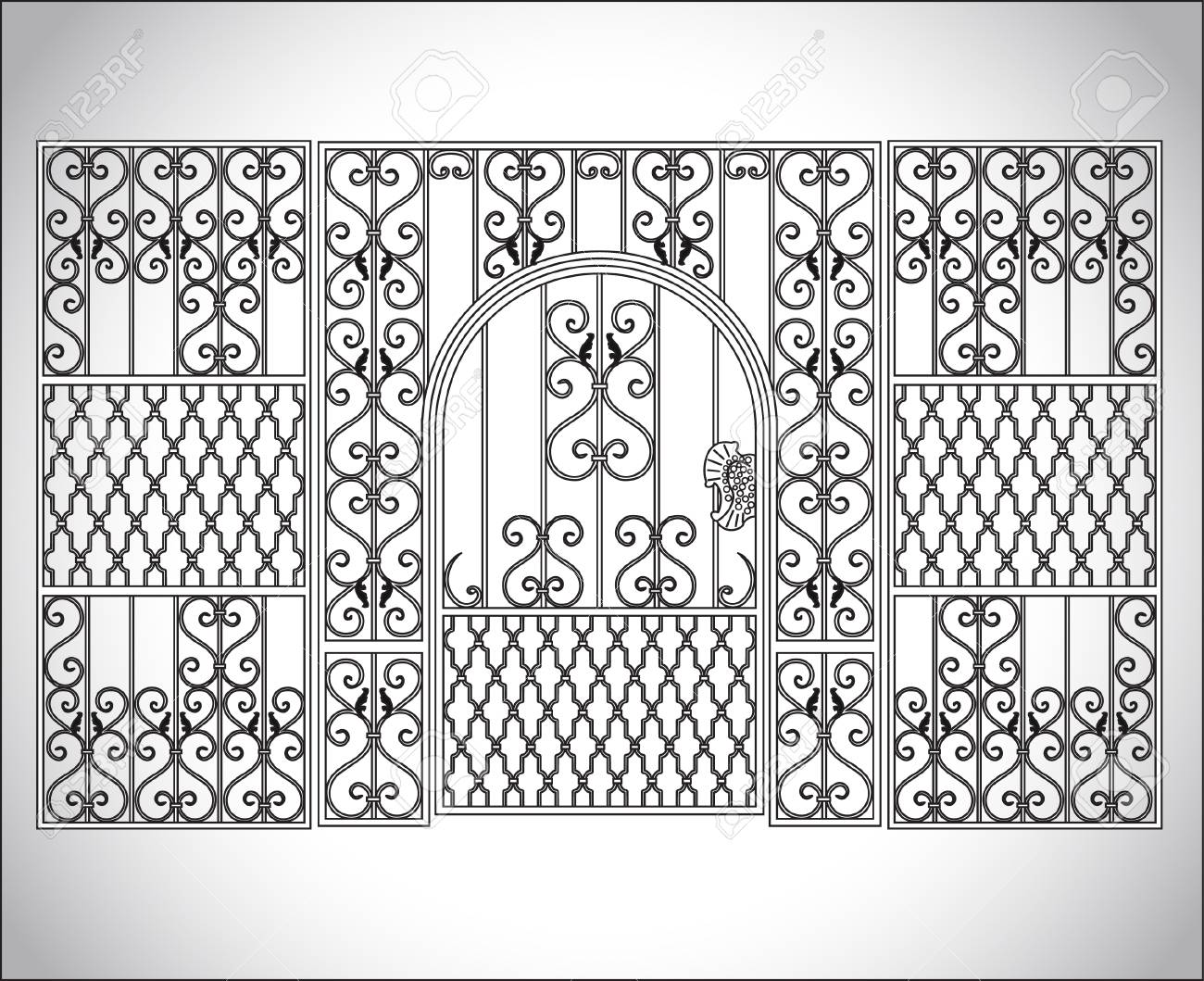 The forged products Stock Vector - 24336101