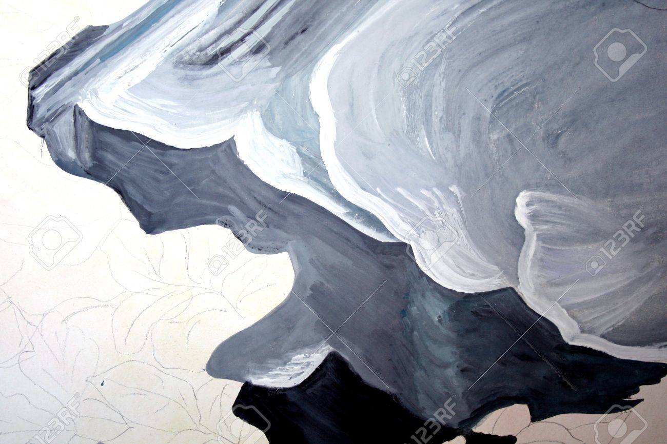 Abstract painting, I am the author of this painting Stock Photo - 4302831