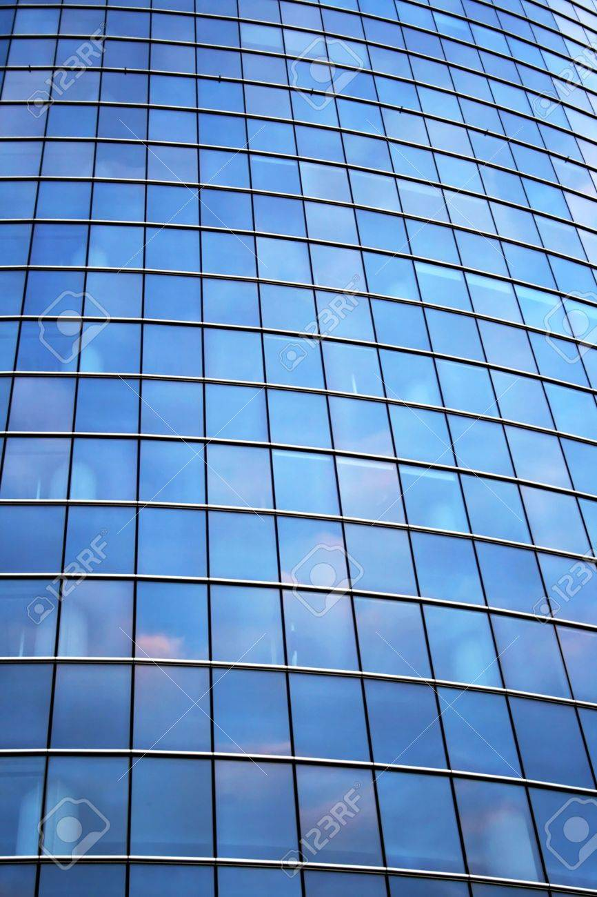 Glass wall of office building Stock Photo - 8177902