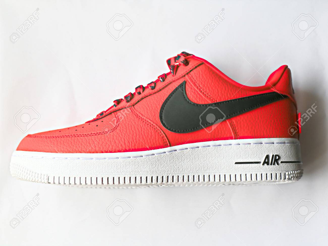 Tokyo, Japan 21, 2018: Nike Air Force 1 Low 07 NBA. Nike Sneaker..