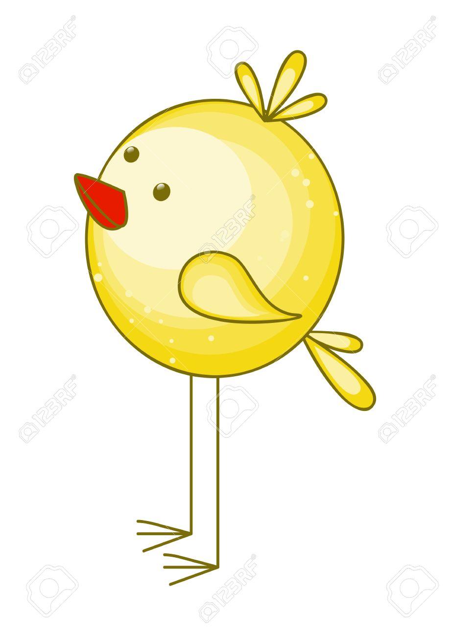 かわいい漫画の鶏のイラスト ロイヤリティフリークリップアート