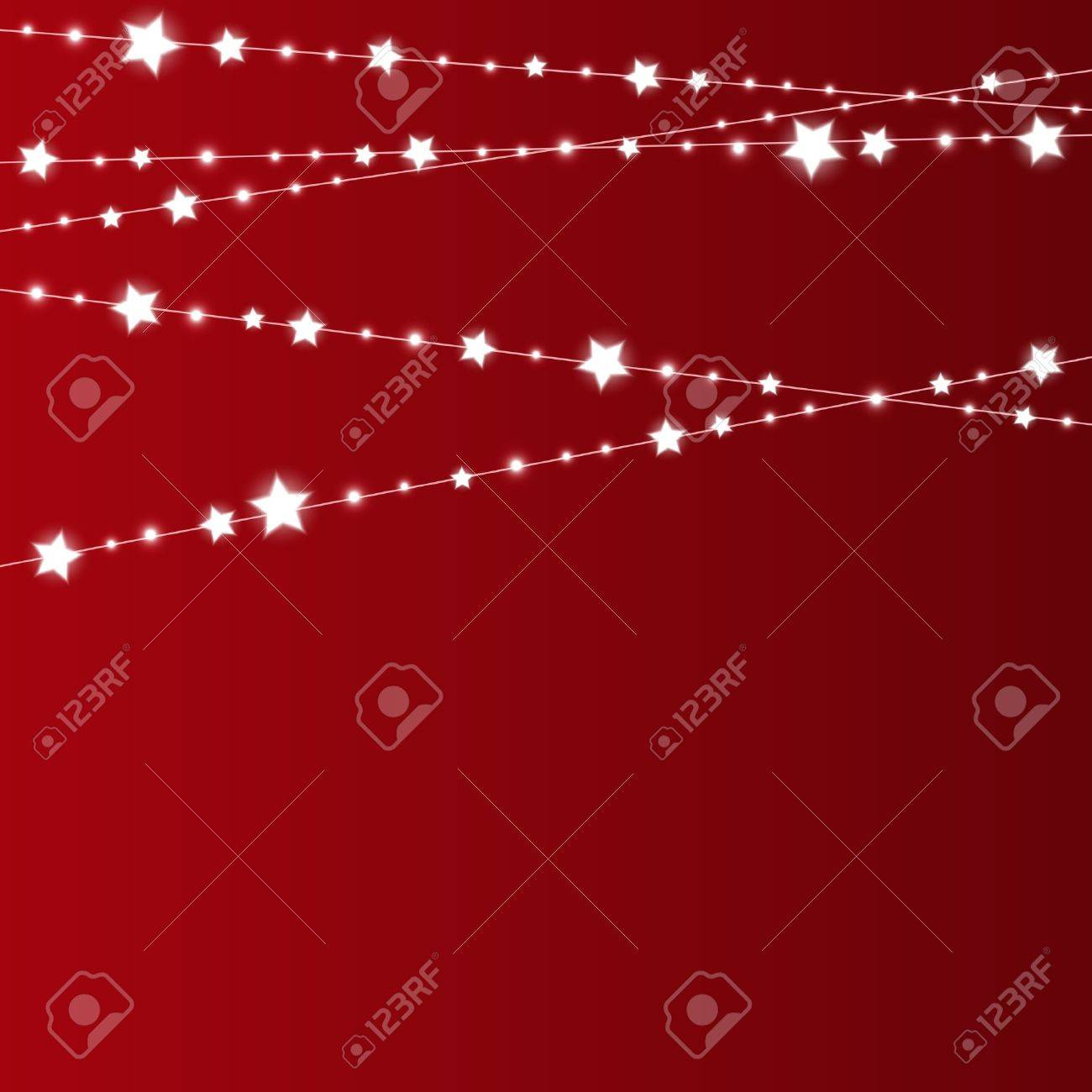 Starry Christmas background with place for text Stock Vector - 16686233