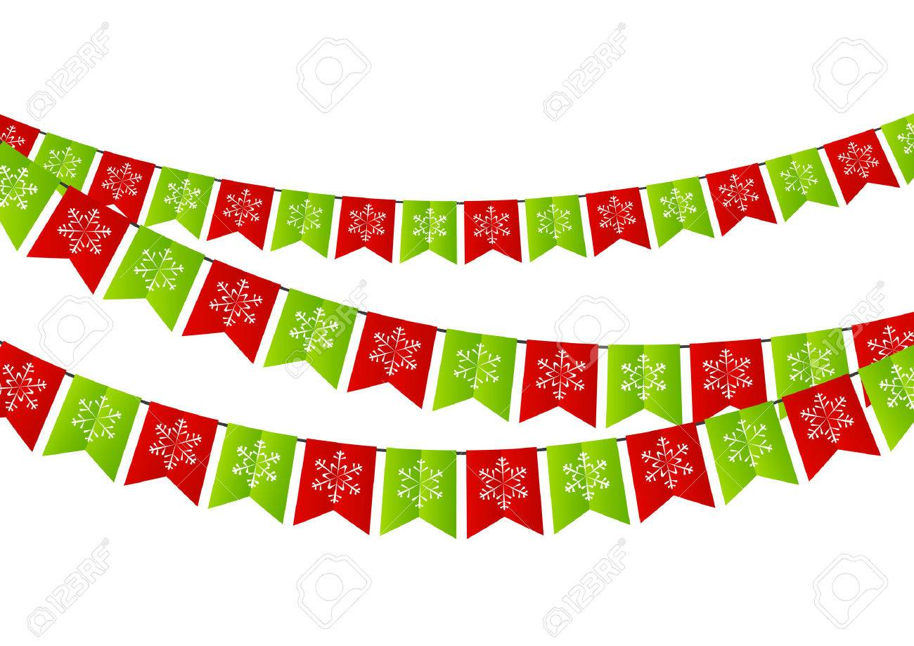 Party Christmas flags for Your design Stock Vector - 32143381 472d2c25d201