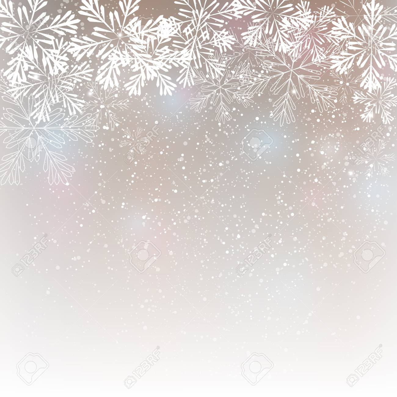 Snowflake background for Your design - 46278199