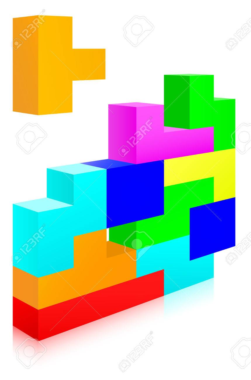 Classic tetris game royalty free cliparts vectors and stock classic tetris game stock vector 6787734 ccuart Image collections