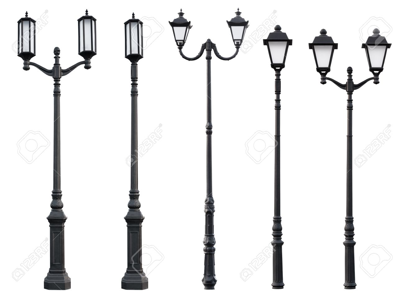 vertical lamp photo cutout stock of street post images image light