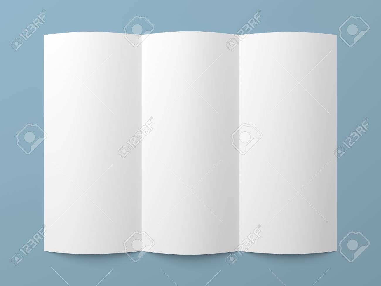 Blank Tri Fold Brochure Template Blank Powerpoint Brochure – Blank Tri Fold Brochure Template