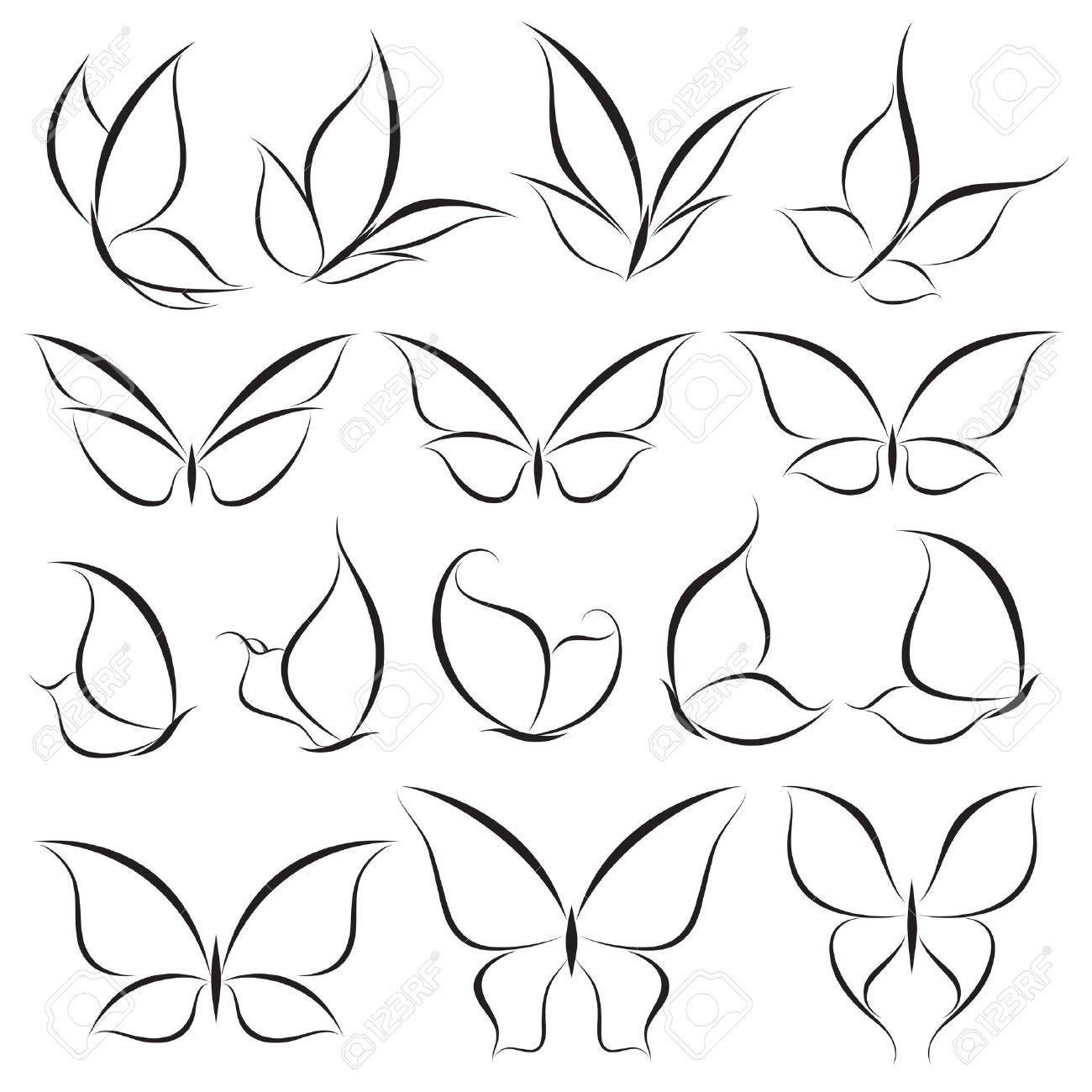 Butterflies Stock Vector - 9284411