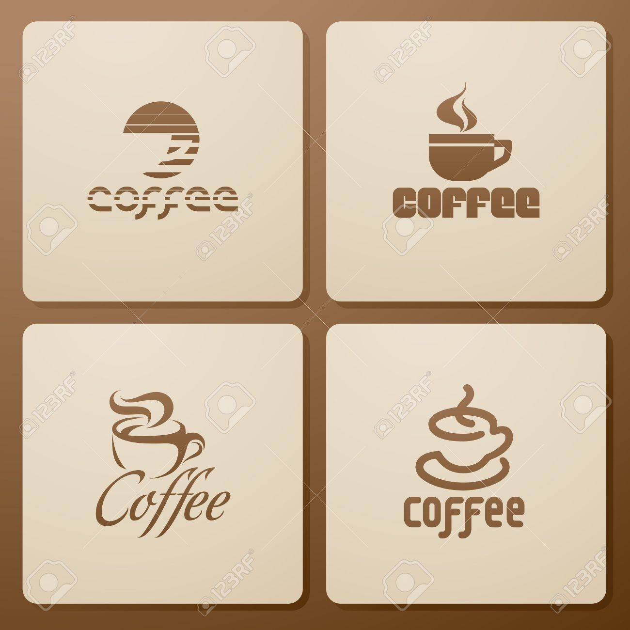 Coffee. Elements for design. Stock Vector - 9508476