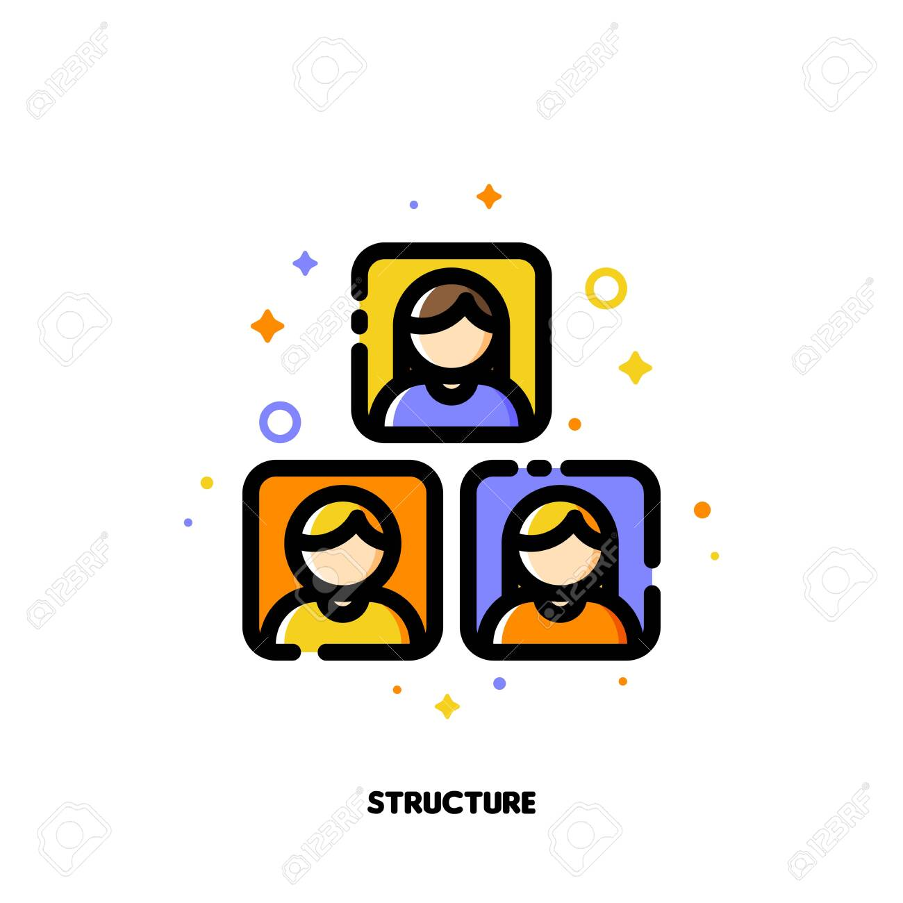 company organizational structure icon for human resources management royalty free cliparts vectors and stock illustration image 135284003 company organizational structure icon for human resources management royalty free cliparts vectors and stock illustration image 135284003