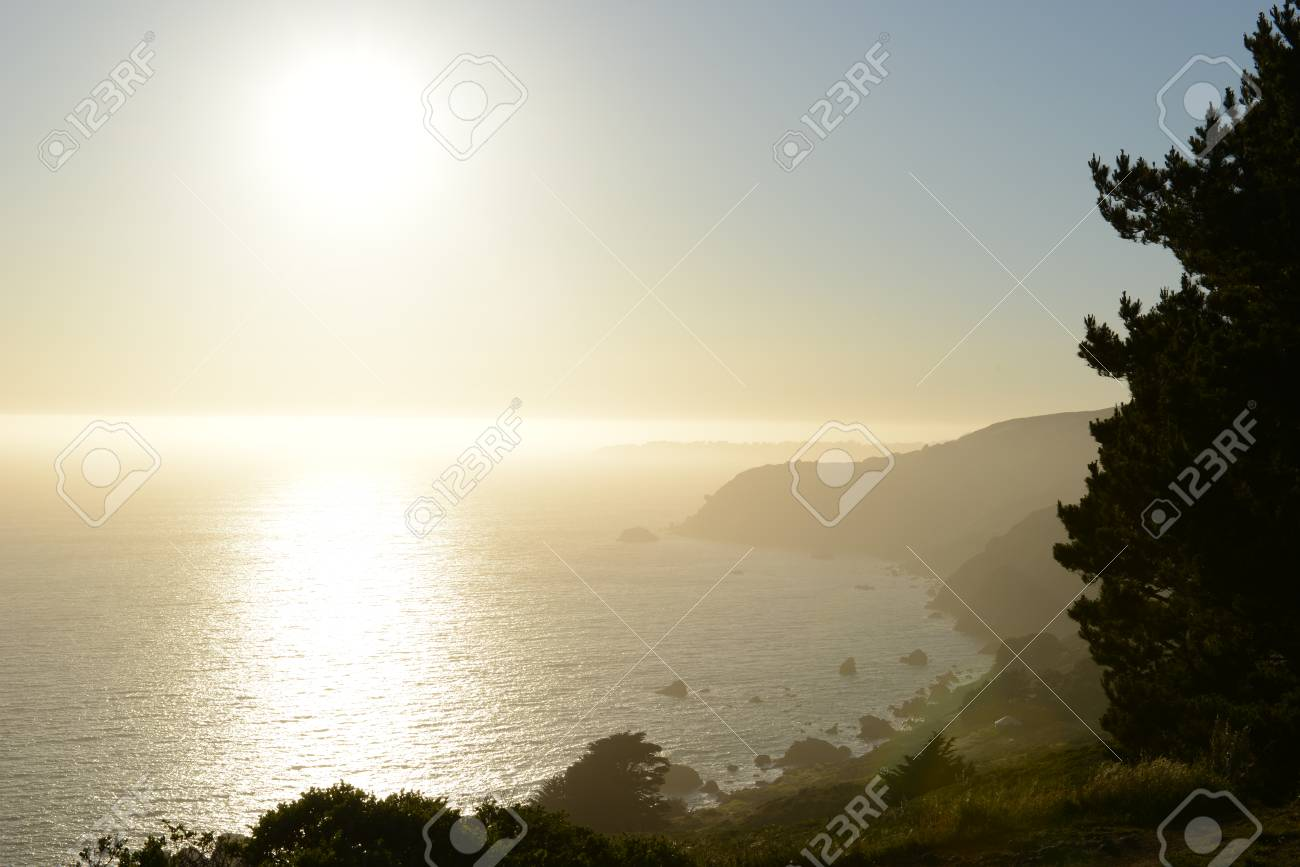 Stock Photo Warm morning in the