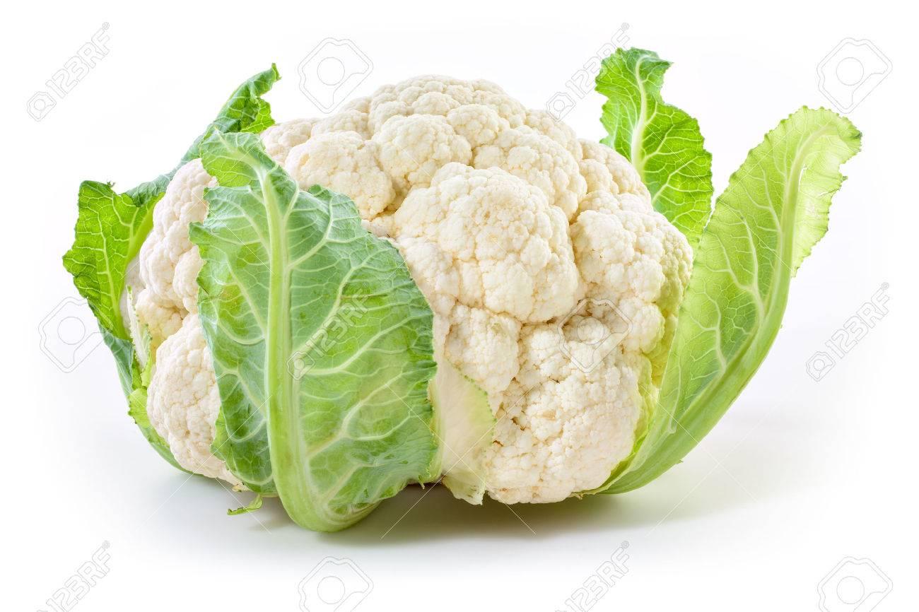 Cauliflower isolated on white background - 54475318