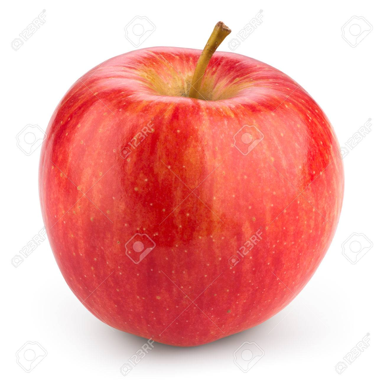 Fresh red apple isolated on white. With clipping path - 74452921
