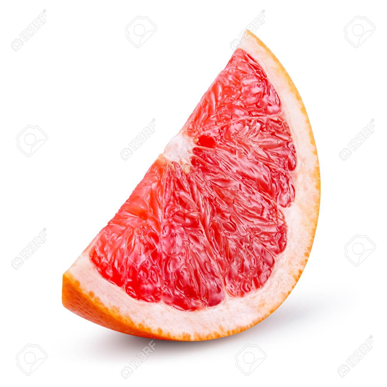 Grapefruit isolated on white b - 116172685