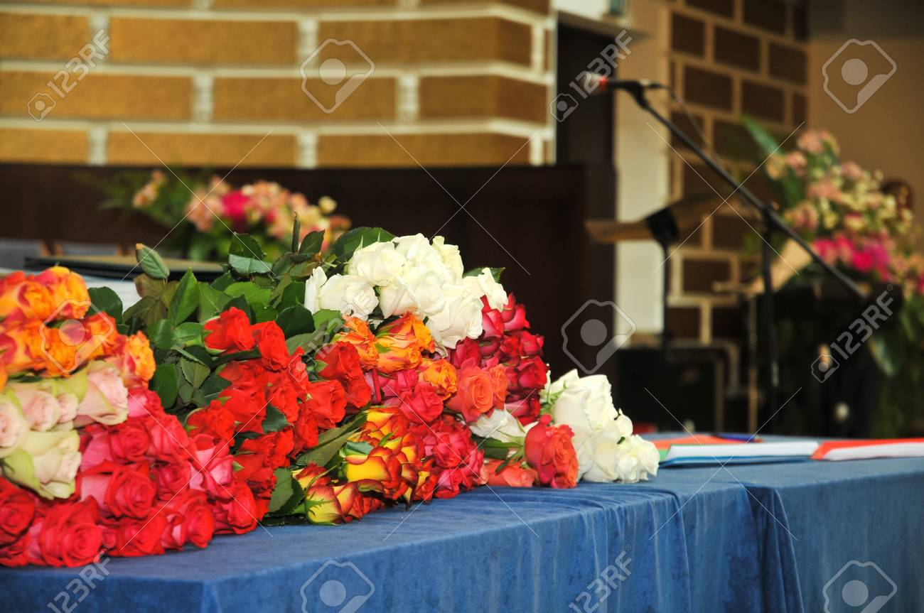 flowers on the table Stock Photo - 22149485