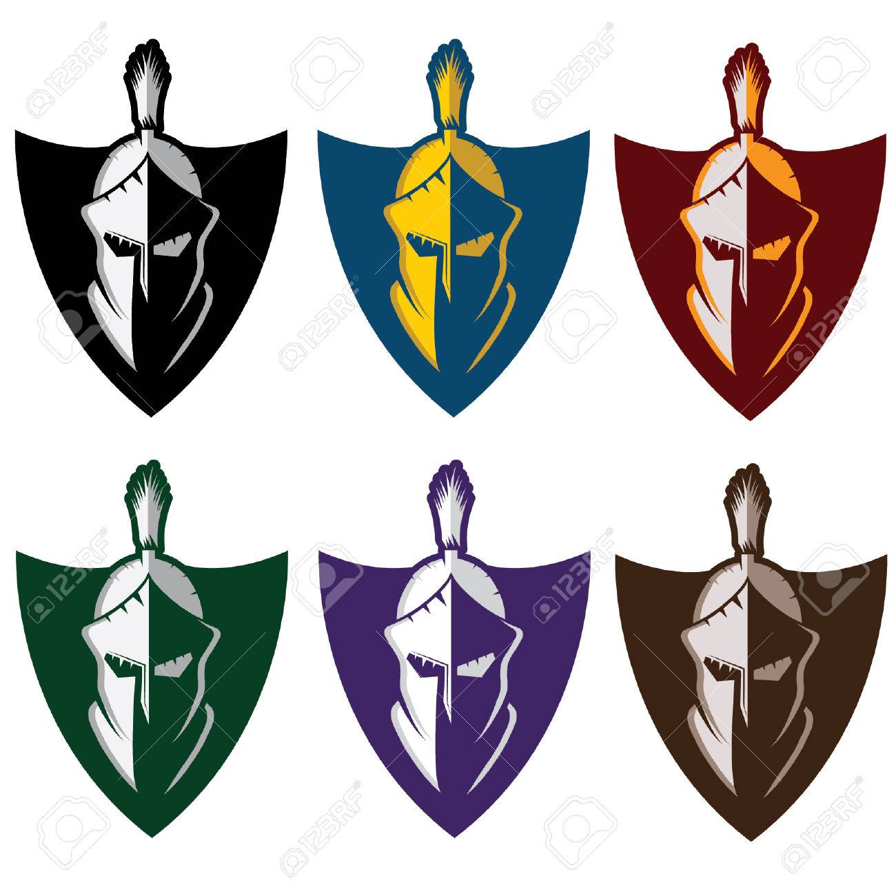 crests with spartan warrior royalty free cliparts vectors and rh 123rf com free vector christmas lights free vector christmas cards