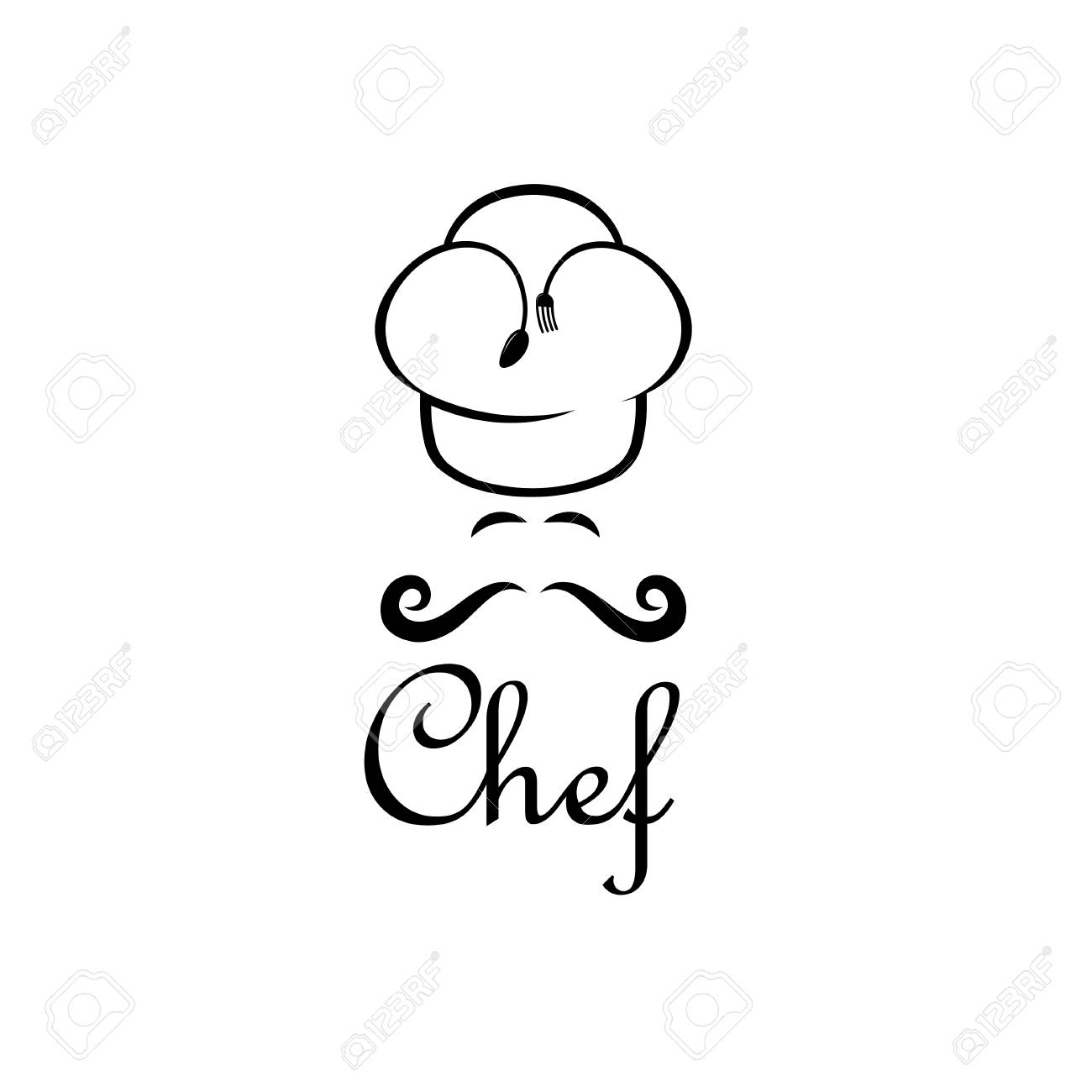 chef vector design template royalty free cliparts vectors and
