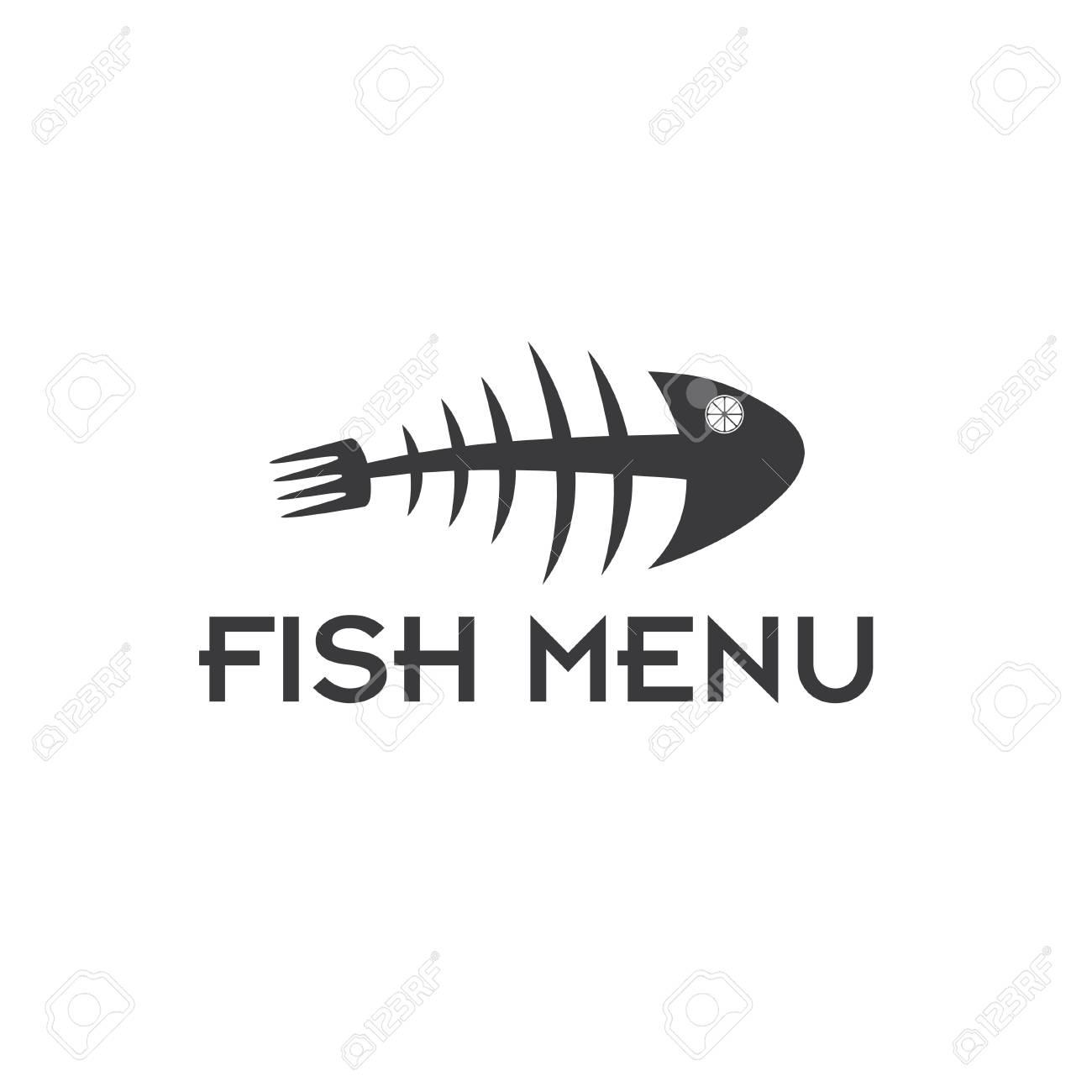 Fish Menu Vector Design Template Royalty Free Cliparts Vectors And