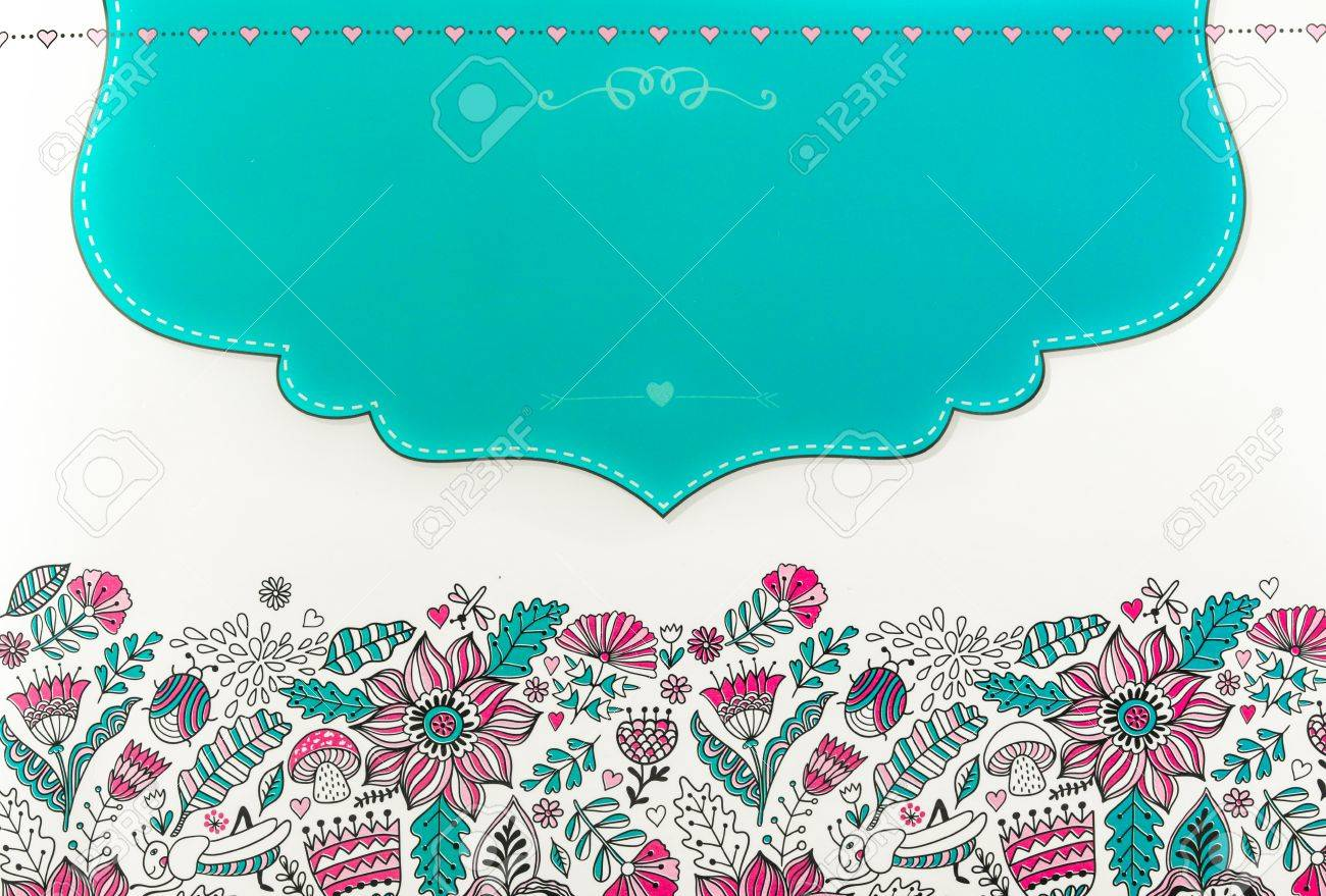 Abstract, Color Image, Coloring Pages For Adults, Flowers And ...