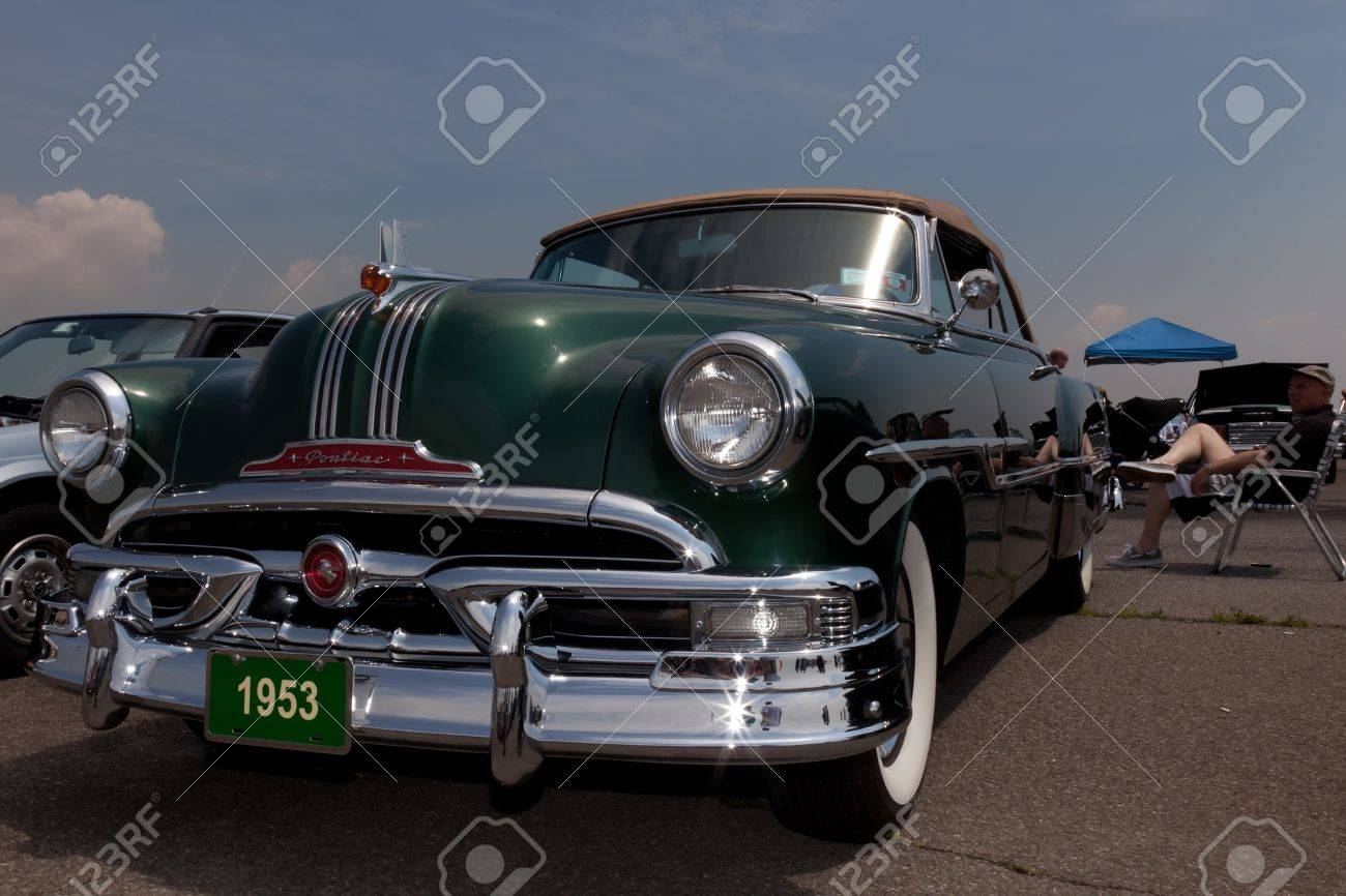 1953 Pontiac Chieftain Catalina At The Antique Automobile Association Stock Photo Picture And Royalty Free Image Image 15319529