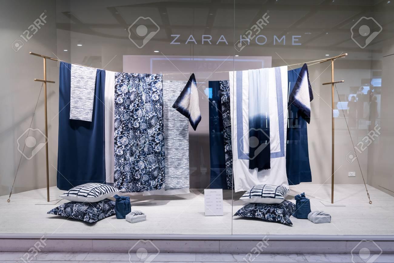 Boutique Zara Home à Emquatier, Bangkok, Thaïlande, 2 septembre 2017: on plan de cassis, plan de maison, plan de montauban, plan de payzac, plan de capbreton, plan de montpellier, plan de ville, plan de toulouse, plan de lunel, plan de lyon, plan de bordeaux, plan de bruges,