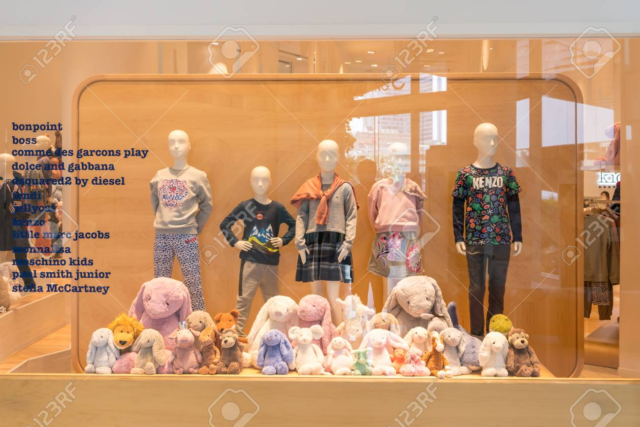 Kids 21 shop at Emquatier, Bangkok, Thailand, Nov 3, 2017 : Luxury