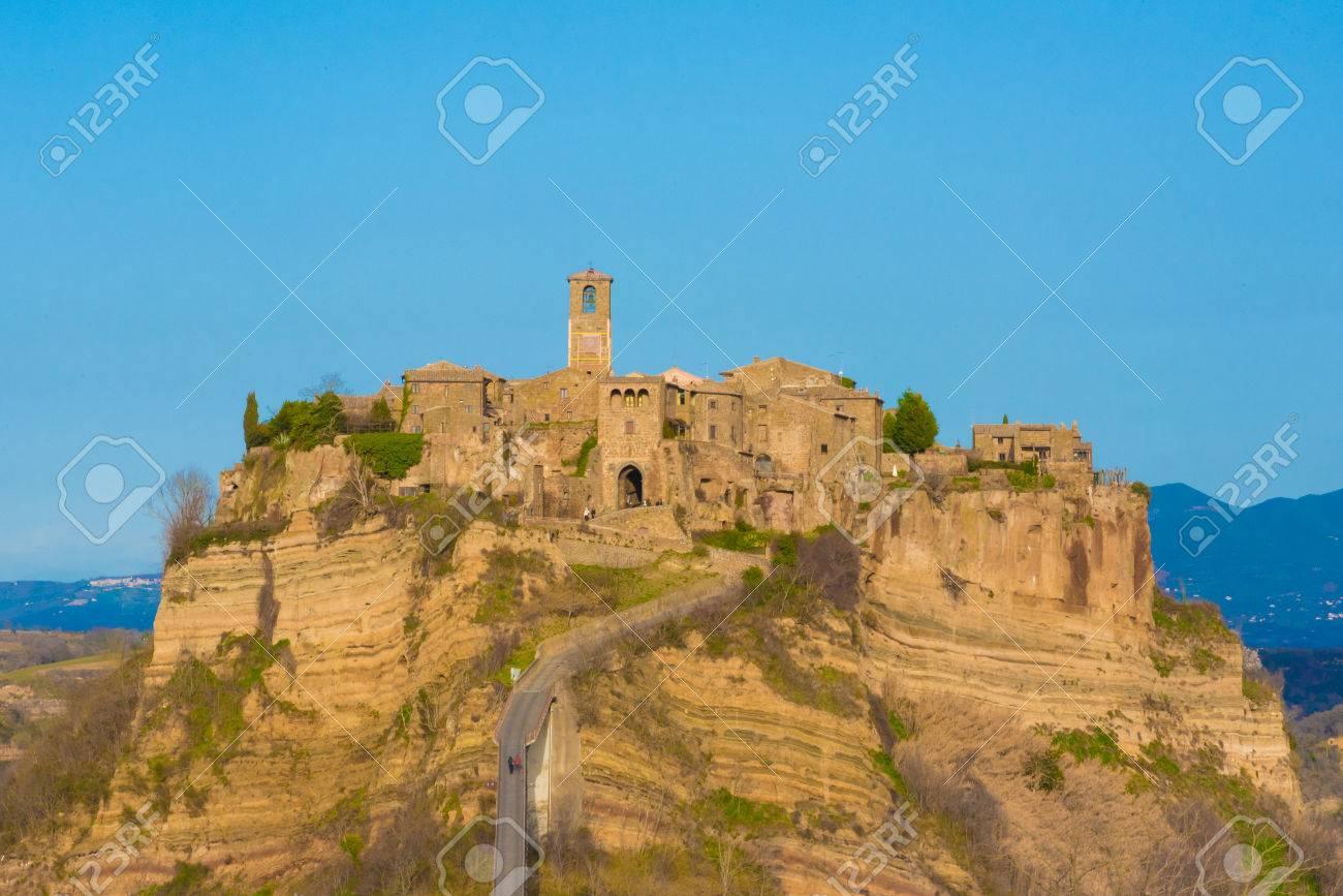 Civita Di Bagnoregio Viterbo Lazio Central Italy The Town