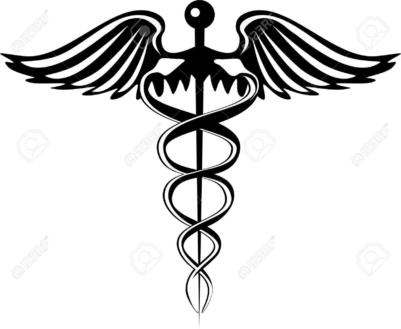 Caduceus Pharmacy Symbol Stock Vector - 17342496