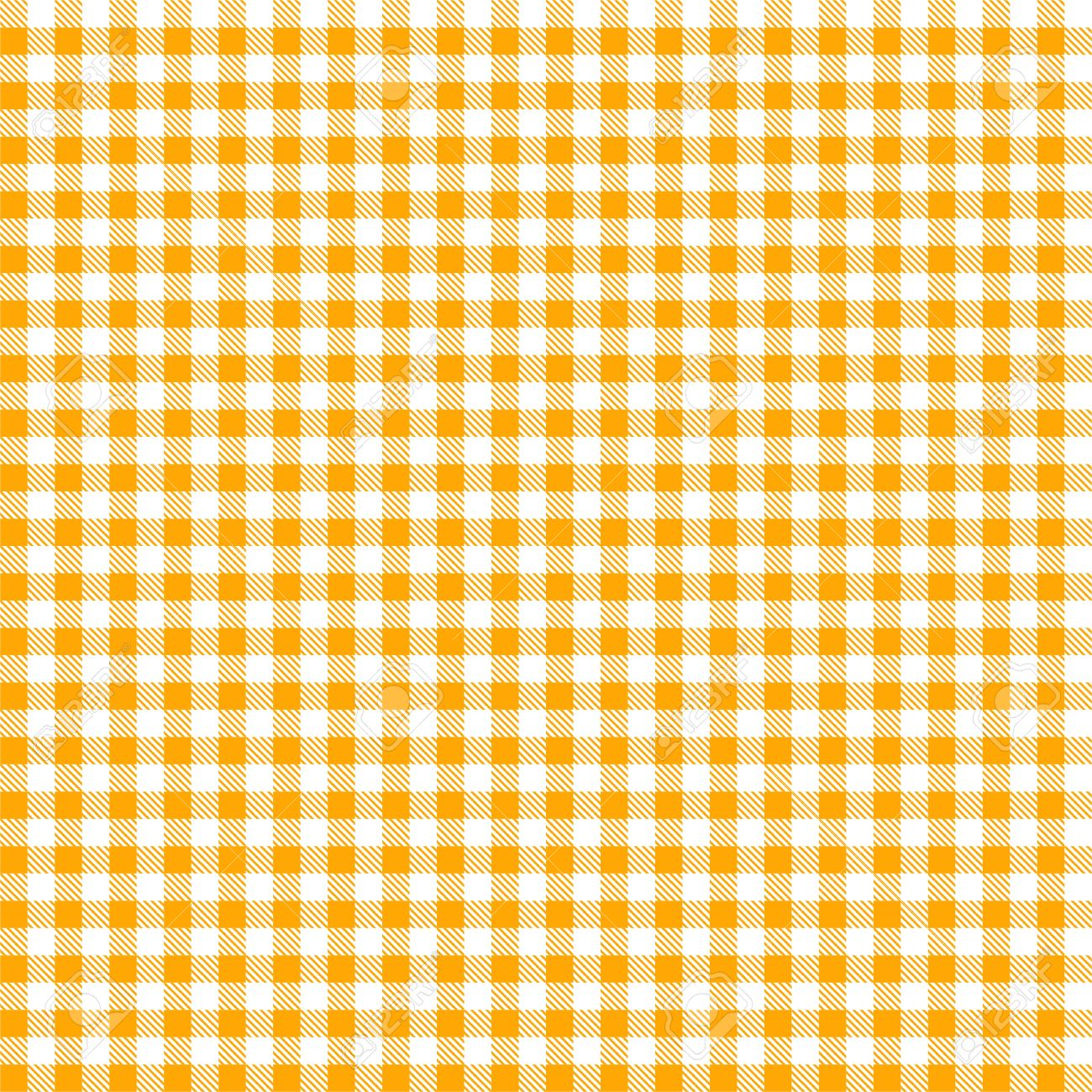 Superbe Seamless Yellow Checkered Tablecloth Pattern Stock Vector   37569557