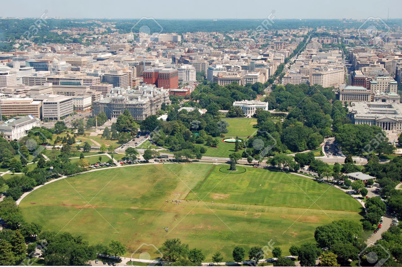 Outstanding Aerial View Of The White House In Washington Dc From Washington Download Free Architecture Designs Scobabritishbridgeorg