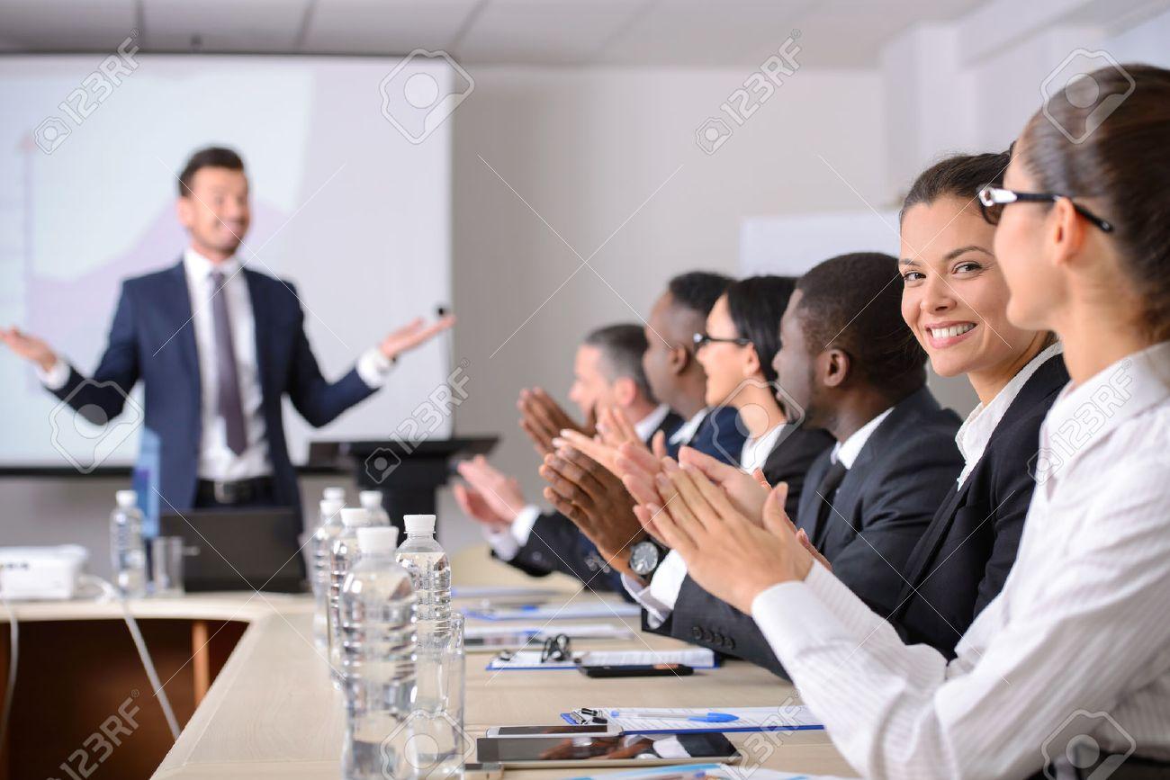 busniess meeting