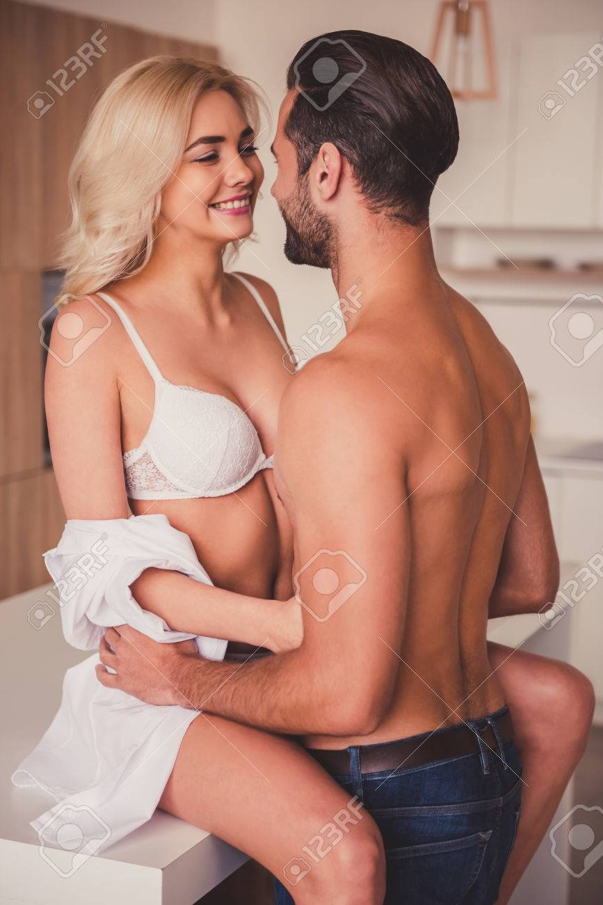 Husband naked wedding wife led