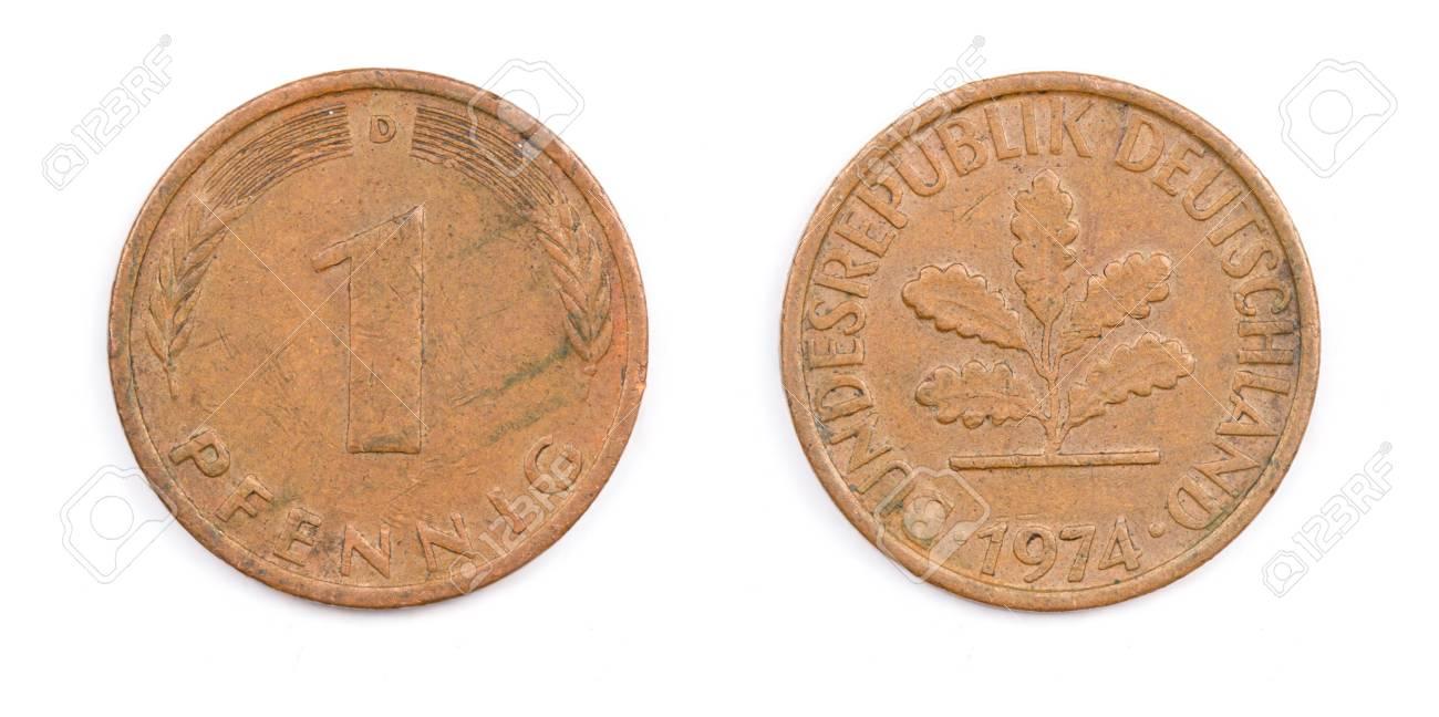 Alte Deutsche Münze Lizenzfreie Fotos Bilder Und Stock Fotografie