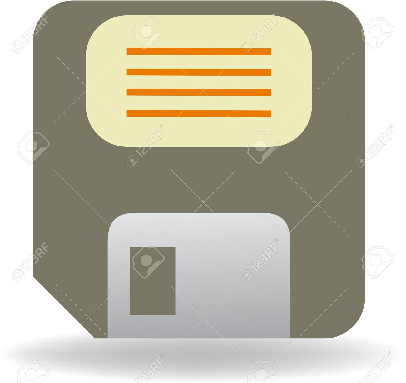 floppy disc vector illustration - 4294670