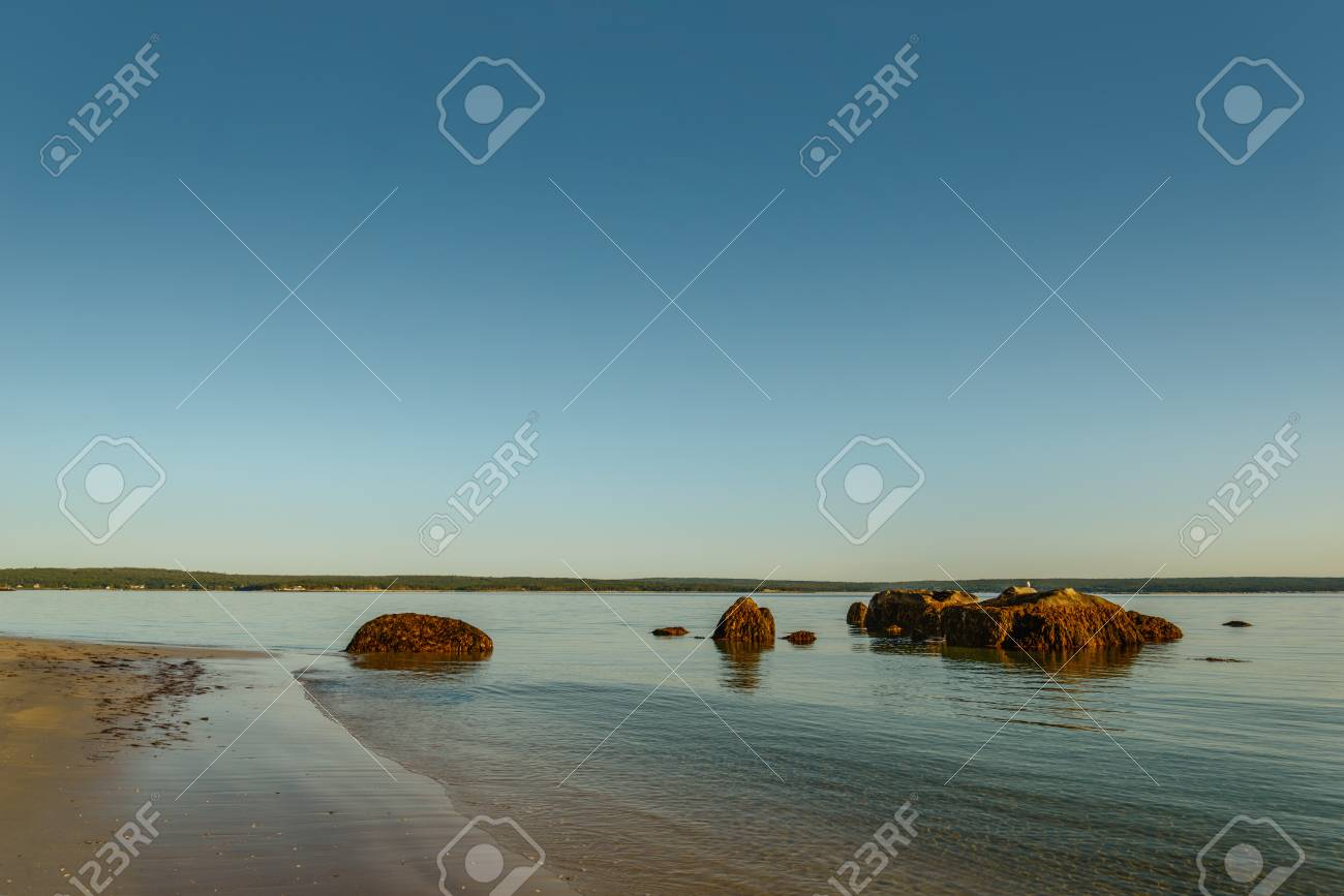 Carters Beach Nova Scotia Canada Stock Photo Picture And Royalty