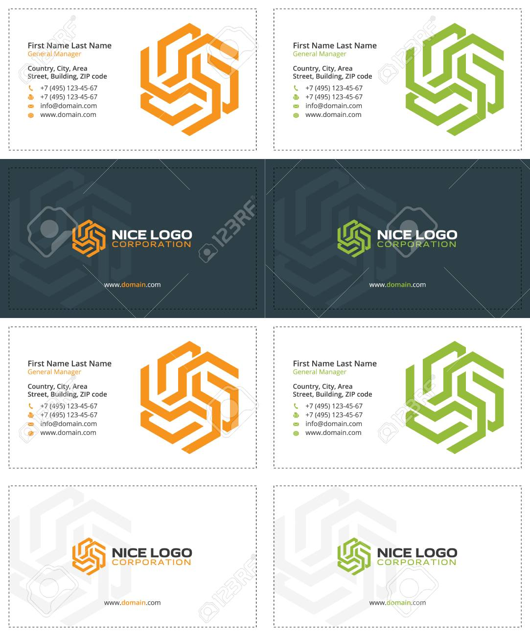 Solar energy business cards gray orange and green colors royalty solar energy business cards gray orange and green colors stock vector 68475330 reheart Images