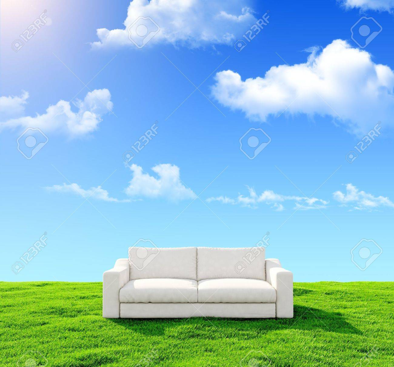 Grass Couch Couch Grass Images Stock Pictures Royalty Free Couch Grass