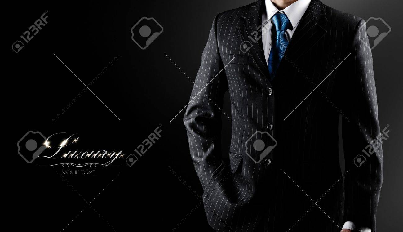 businessman in a luxury suit Stock Photo - 16469925