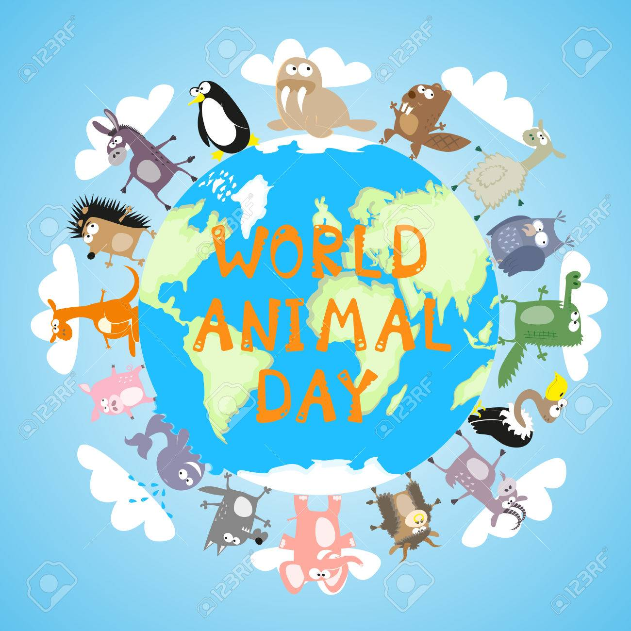 Image result for world animal day images