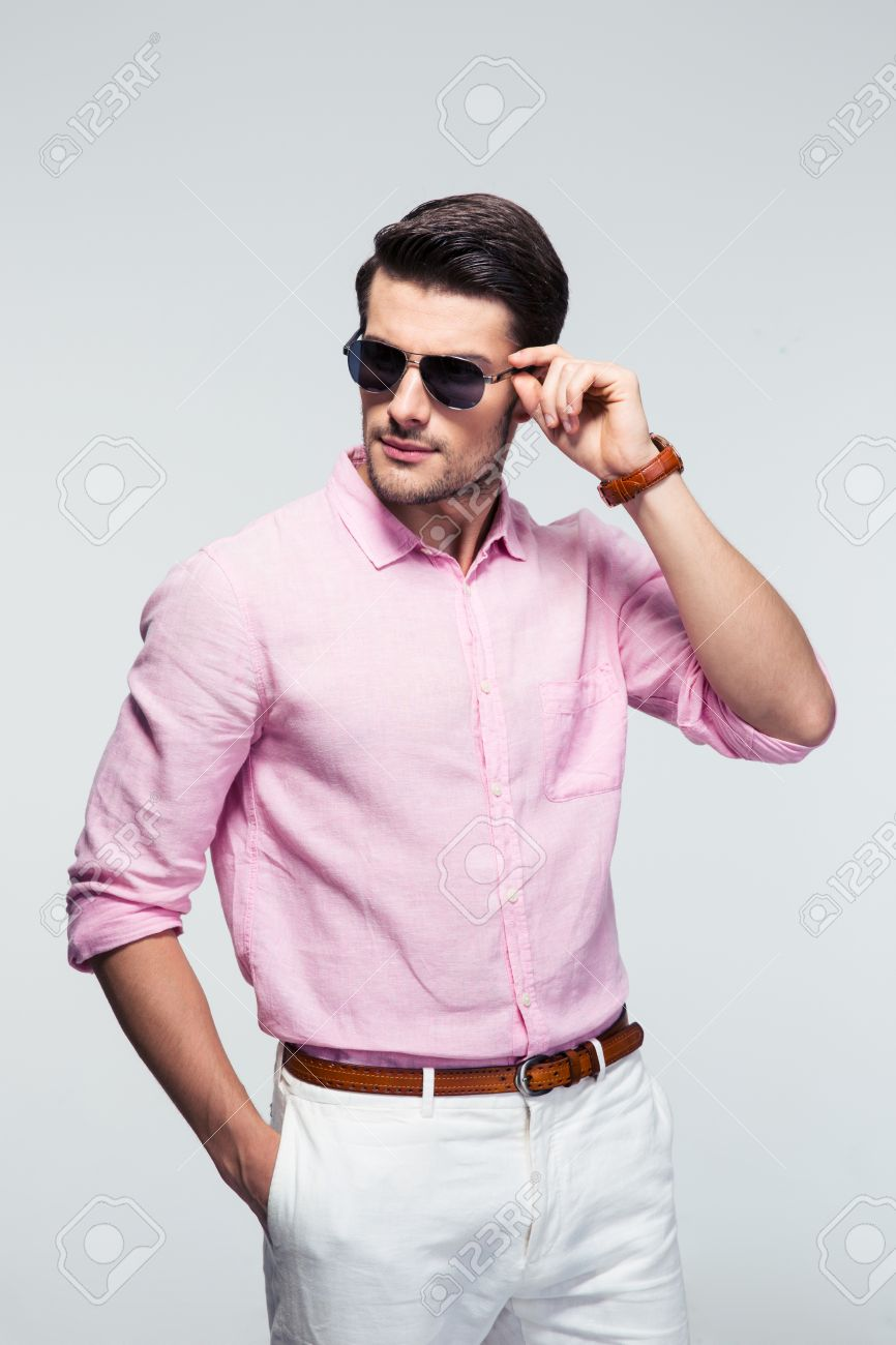 Guy In Pink Shirt Stock Photos. Royalty Free Guy In Pink Shirt ...