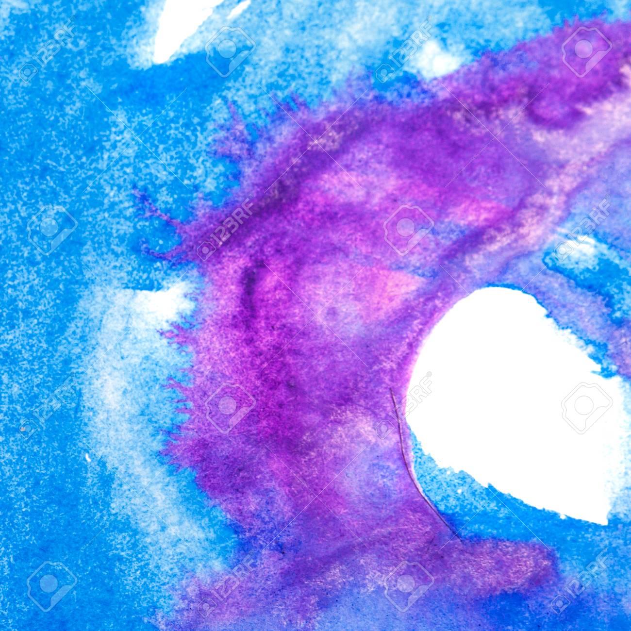 Abstrakte Kunst Ölfarbe. Malen Sie Pinselstriche Auf Leinwand ...