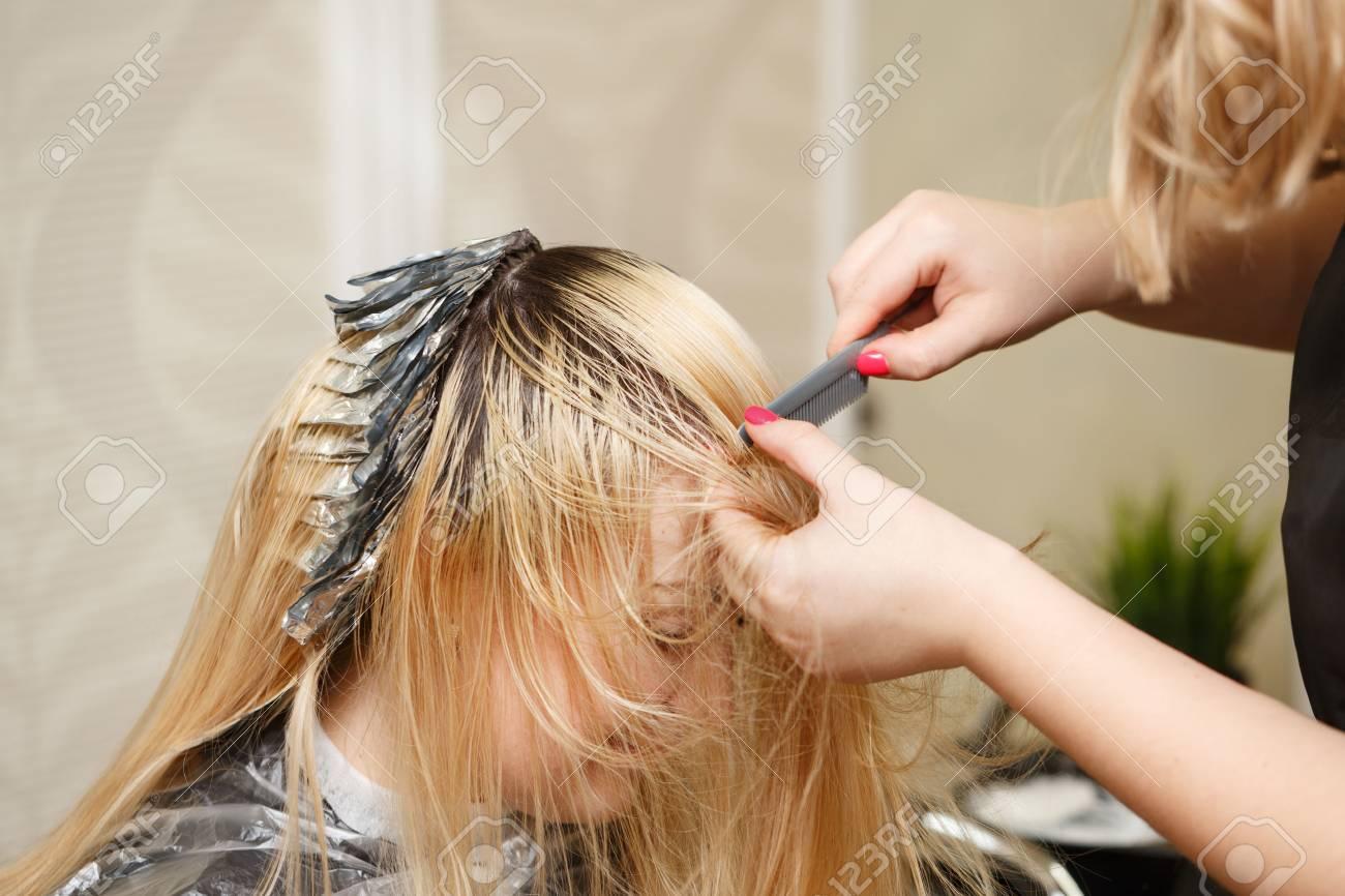 Coloration Cheveux Salon