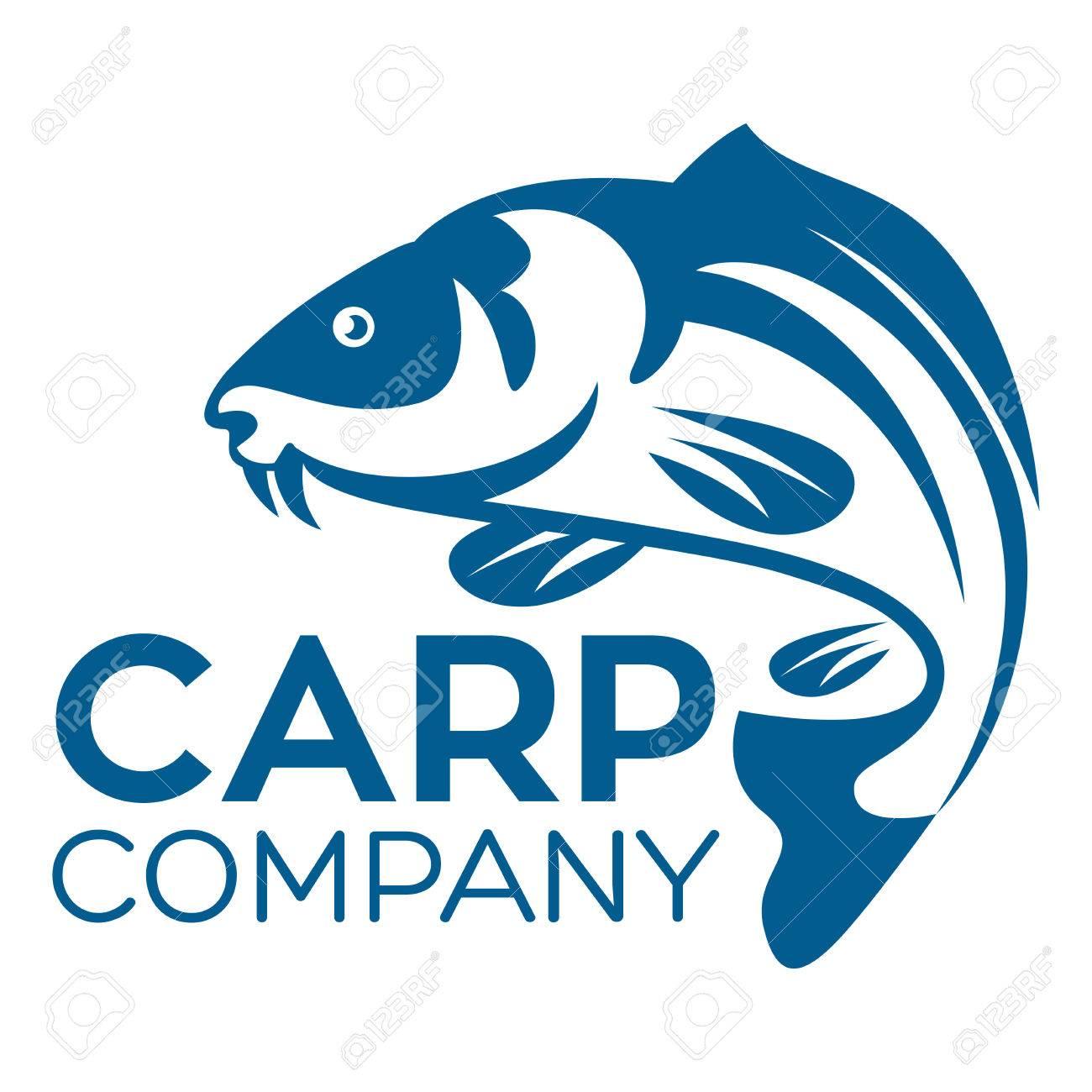 fish carp logo royalty free cliparts vectors and stock rh 123rf com carp log app carp logo football
