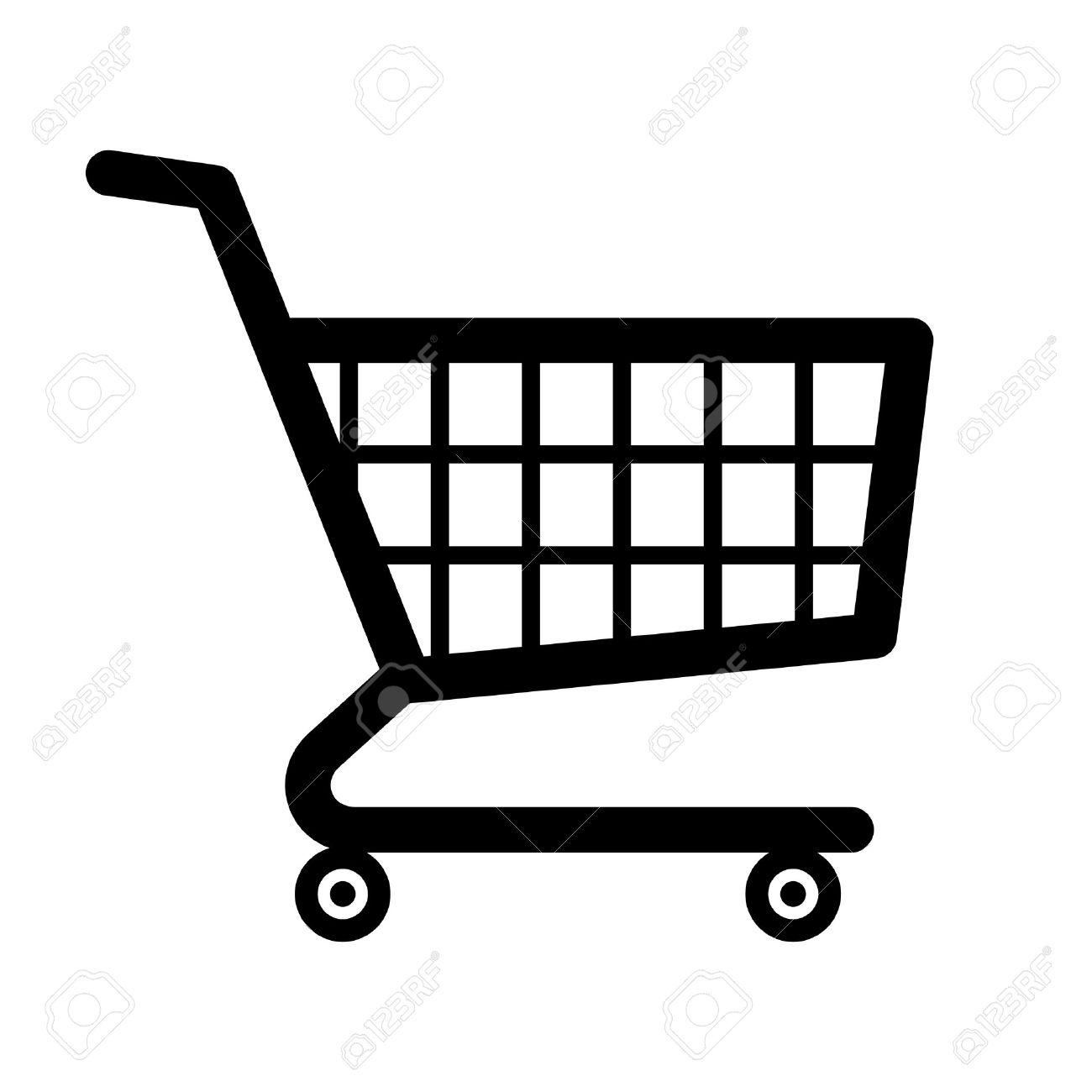shopping cart icon royalty free cliparts, vectors, and stockshopping cart icon