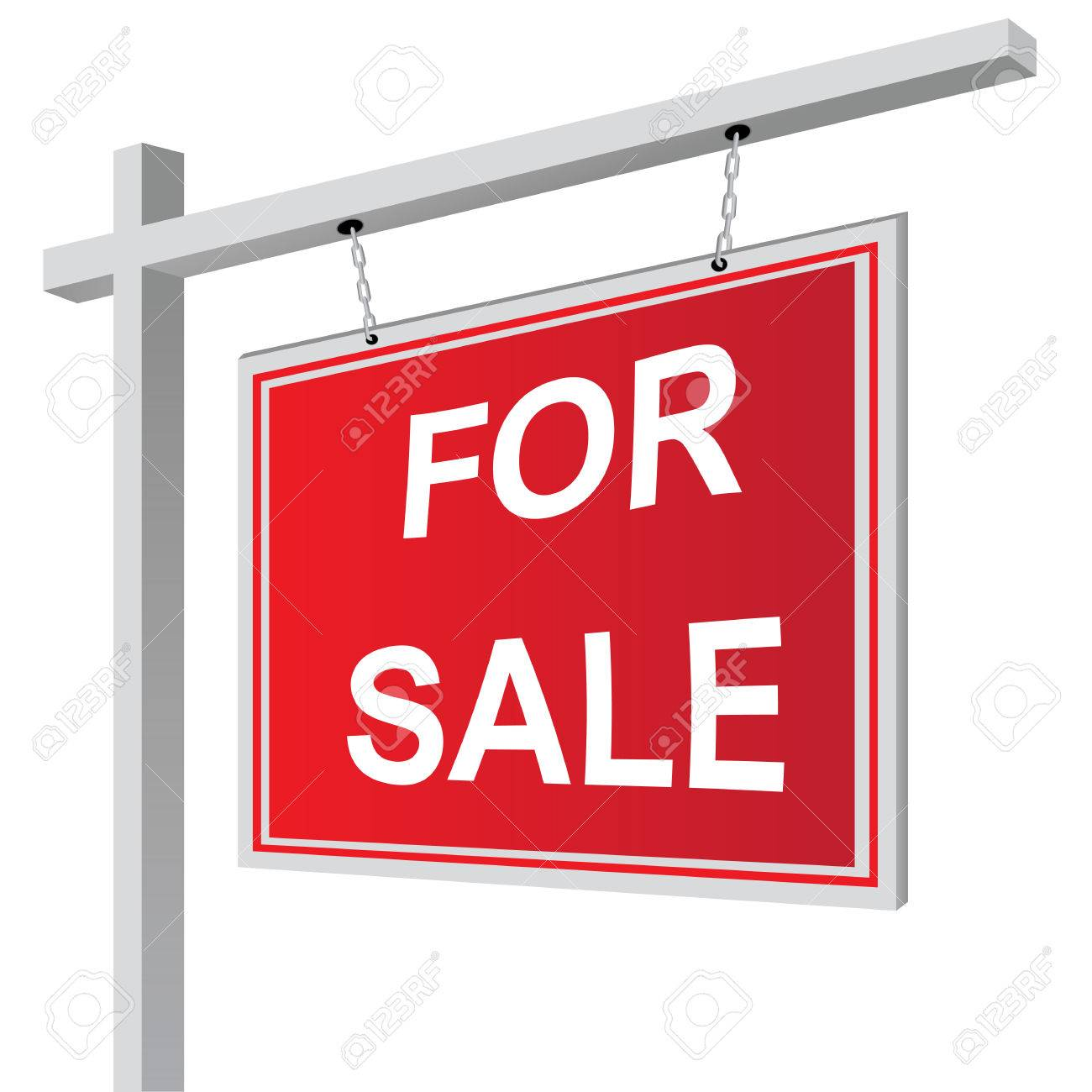 For sale sign vector illustration - 39571045
