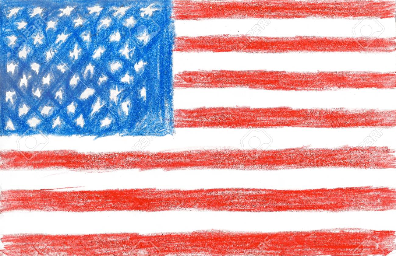 20+ New For Flag Drawing For Kids