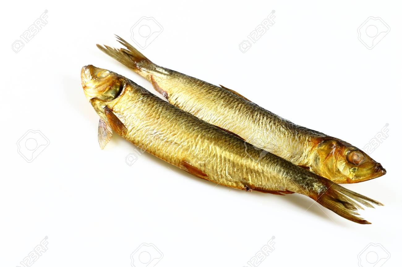 Smoked herring fish - 126325834