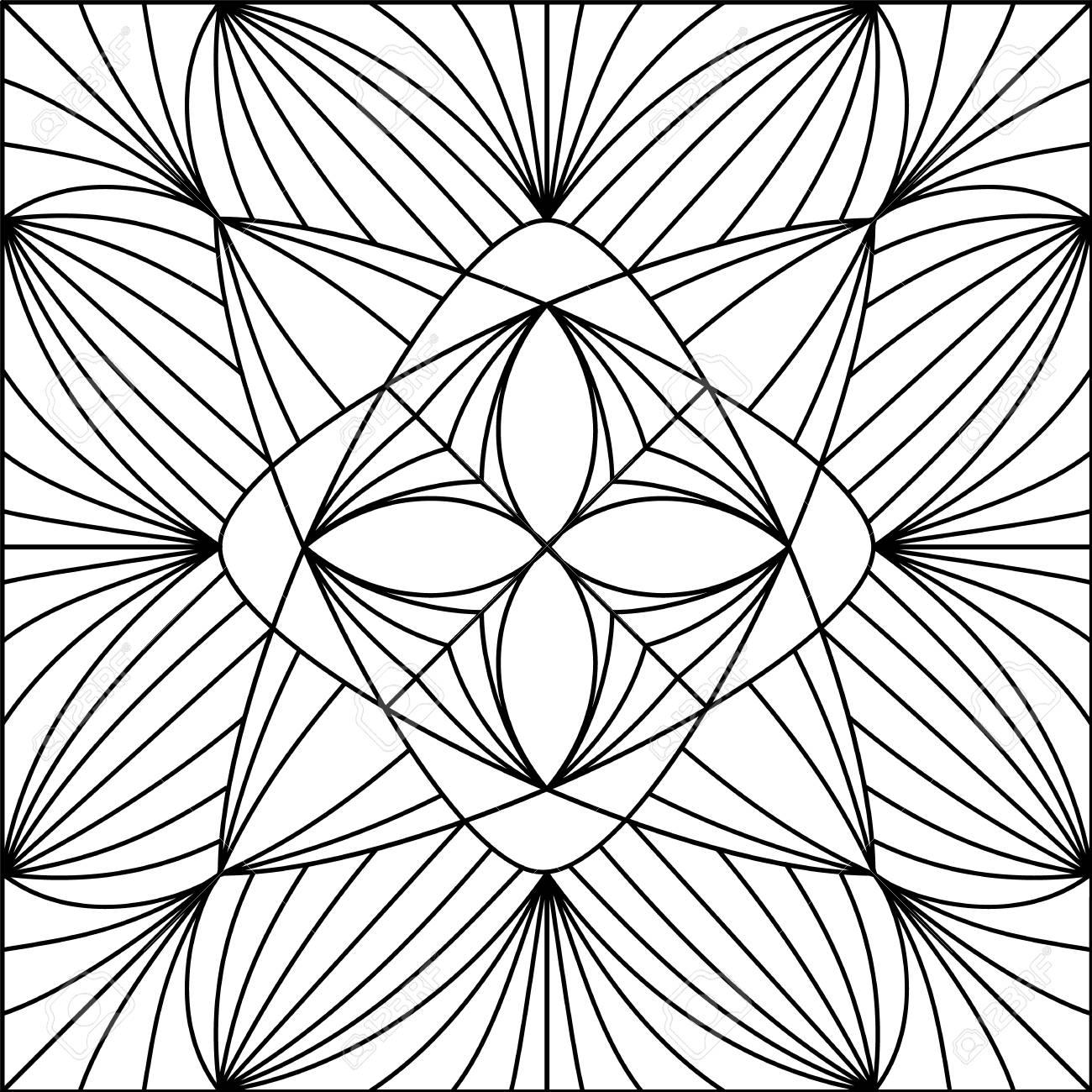 Schwarz Weiß Muster Dieses Muster Kann Für Hintergrund Tapete